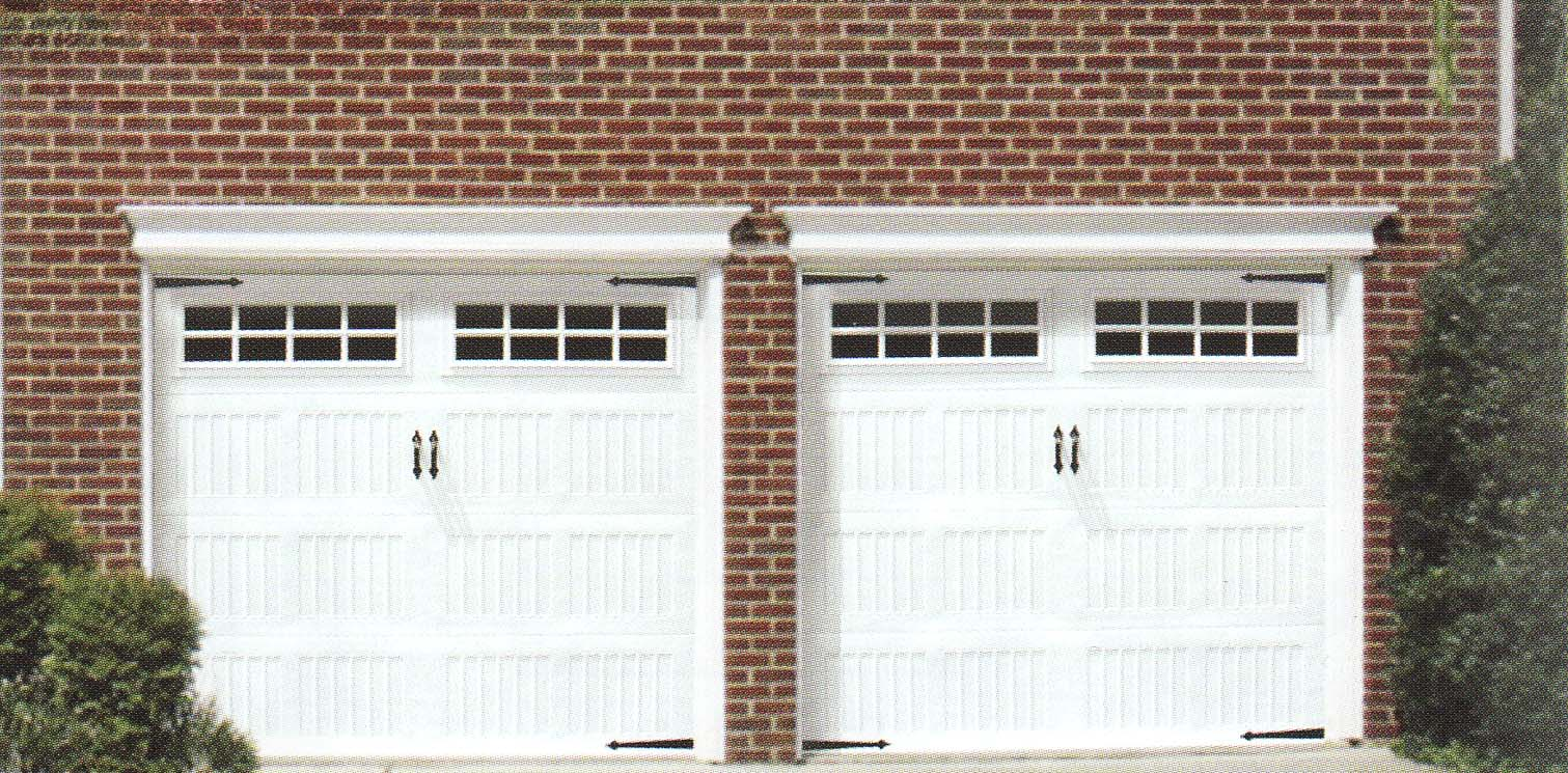 traditional home garage doors