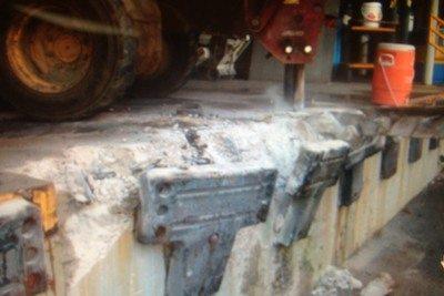 loading dock damage