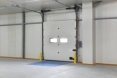 internal commercial garage door